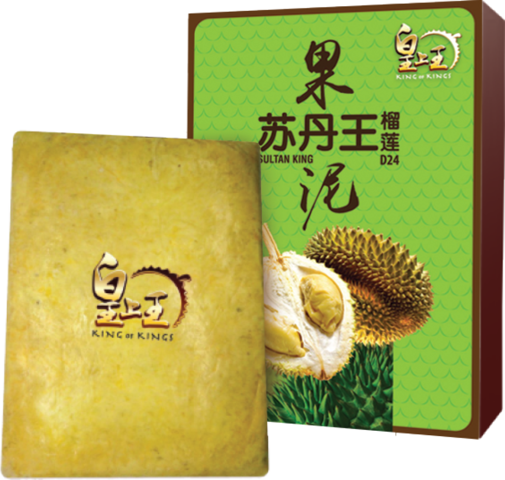 Frozen D24 Sultan King Durian Paste