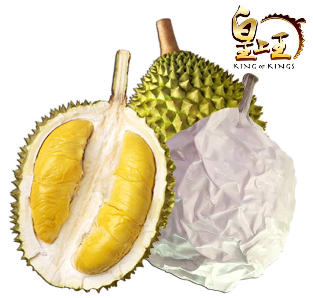 Liquid Nitrogen Frozen Musang King Durian