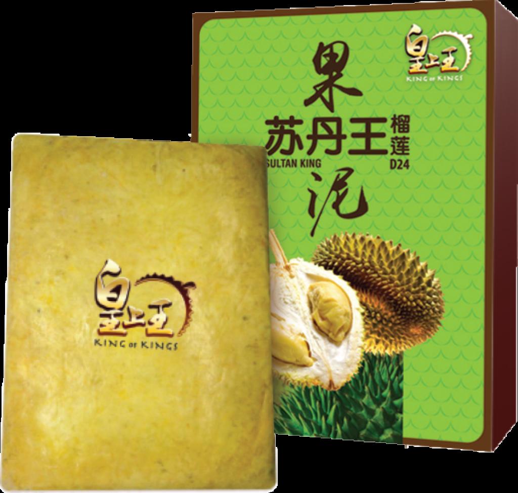 Frozen D24 Sultan King Durian Paste